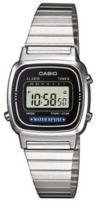 Casio Collection Retro LA670WEA-1EF Digitaluhr für Damen Sehr leicht