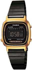 Casio Collection LA670WEGB-1BEF Digitaluhr für Damen Retro