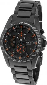 Jacques Lemans Liverpool GMT 1-1635H Herrenchronograph Sehr Sportlich