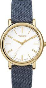 Timex Originals Linen TW2P63800 Damenarmbanduhr Indiglo Beleuchtung