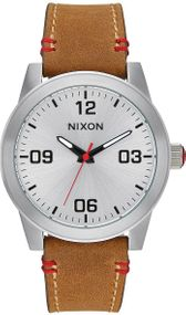 Nixon G.I. Leather A933-747 Damenarmbanduhr Design Highlight