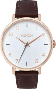 Nixon Arrow Leather A1091-2369 Damenarmbanduhr Design Highlight
