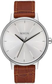 Nixon Kensington Leather A108-2094 Damenarmbanduhr Design Highlight