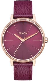 Nixon Kensington Leather A108-2479 Damenarmbanduhr Design Highlight