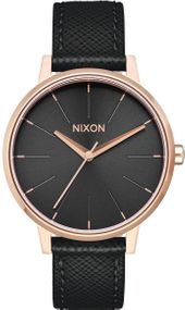 Nixon Kensington Leather A108-1098 Damenarmbanduhr Design Highlight