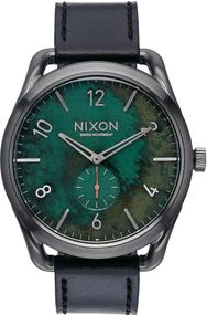Nixon C45 Leather A465-2069 Herrenarmbanduhr Design Highlight