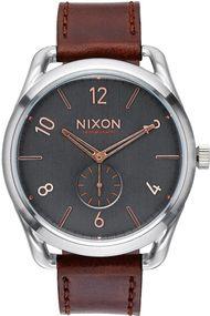 Nixon C45 Leather A465-2064 Herrenarmbanduhr Design Highlight