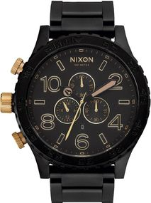 Nixon 51-30 Chrono A083-1041 Herrenarmbanduhr Design Highlight