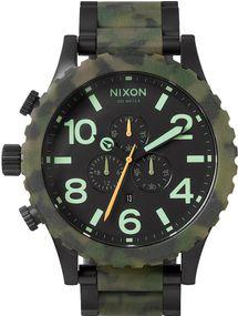 Nixon 51-30 Chrono A083-1428 Herrenarmbanduhr Design Highlight