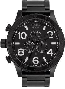 Nixon 51-30 Chrono A083-001 Herrenarmbanduhr Design Highlight