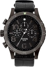 Nixon 48-20 Chrono Leather A363-1886 Herrenchronograph Design Highlight
