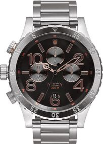 Nixon 48-20 Chrono A486-2064 Herrenarmbanduhr Design Highlight
