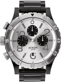 Nixon 48-20 Chrono A486-180 Herrenarmbanduhr Design Highlight