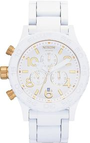 Nixon 42-20 Chrono A037-1035 Herrenchronograph Design Highlight