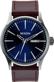 Nixon Sentry Leather A105-1524 Herrenarmbanduhr Design Highlight