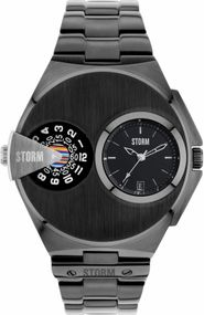 Storm London DUALMATIC 47247/SL Herrenarmbanduhr 2. Zeitzone