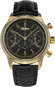Alpina Geneve Alpina 130 Heritage Pilot Chronograph AL-860B4H5 Sportliche Herrenuhr Alpina Rotor