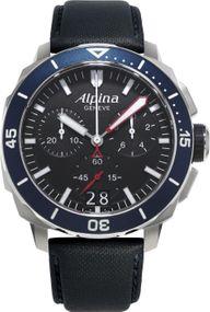 Alpina Geneve Diver 300 AL-372LBN4V6 Herrenchronograph Massives Gehäuse