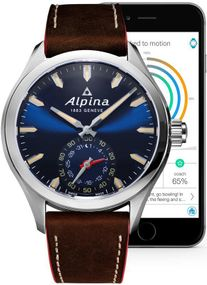 Alpina Geneve Horological Smartwatch AL-285NS5AQ6 Herrenarmbanduhr SmartWatch
