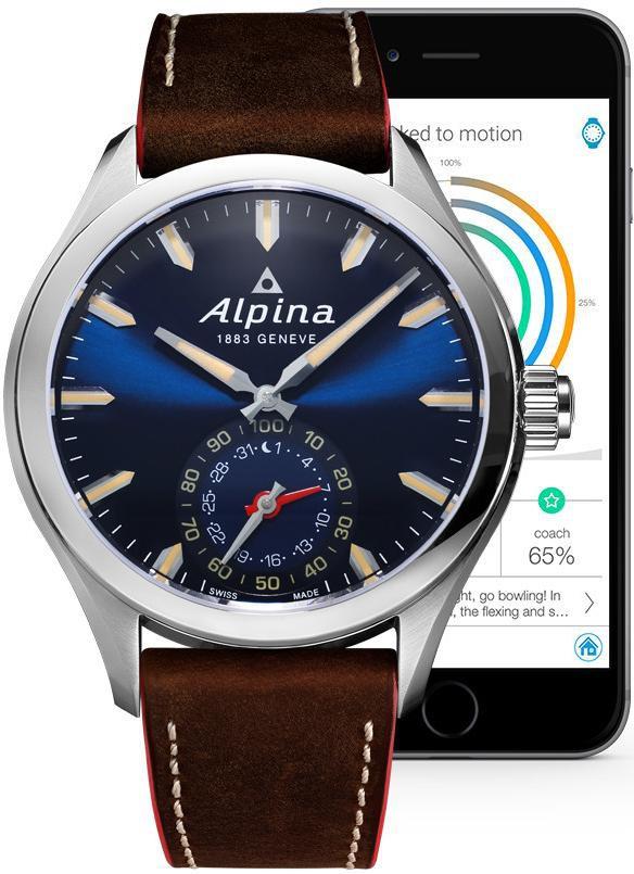 5e989824 f99c 48d6 b686 03f4f1cc0f88 - Alpina Geneve Horological Smartwatch AL-285NS5AQ6 Herrenarmbanduhr SmartWatch