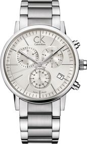 Calvin Klein Post Minimal Chrono CK_K7627126 Legere Herrenuhr Swiss Made