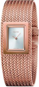 Calvin Klein Mesh K5L13636 Damenarmbanduhr Design Highlight