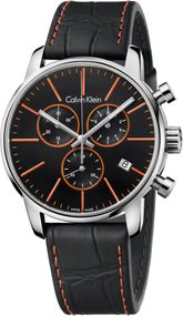 Calvin Klein City Chrono K2G271C1 Herrenchronograph Swiss Made