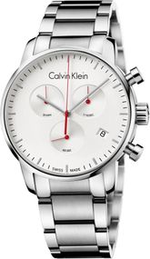 Calvin Klein City Chrono K2G271Z6 Herrenchronograph Swiss Made