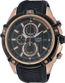 Pulsar WRC PV6002X1 Herrenchronograph Massives Gehäuse