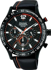 Pulsar Chronograph PT3695X1 Herrenchronograph Carbon Elemente