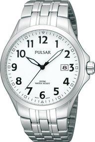 Pulsar Quarz PS9091X1 Herrenarmbanduhr Klassisch schlicht