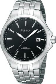 Pulsar Quarz PS9089X1 Herrenarmbanduhr Klassisch schlicht