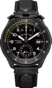 Hamilton Khaki Takeoff H76786733 Herren Automatikchronograph Streng Limitierte Auflage