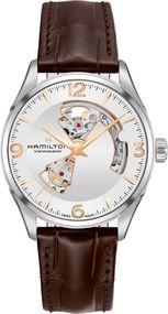 Hamilton Jazzmaster Open Heart H32705551 Herren Automatikuhr Durchbrochenes Ziffernblatt