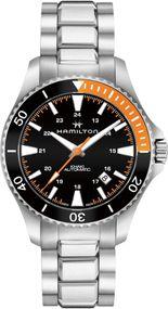 Hamilton Khaki Navy H82305131 Sportliche Herrenuhr 80h Gangreserve