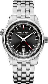 Hamilton Jazzmaster GMT H32695131 Herren Automatikuhr 2. Zeitzone