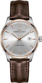 Hamilton Jazzmaster Gent Quartz H32441551 Herrenarmbanduhr flach & leicht