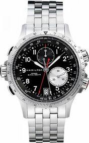 Hamilton Khaki ETO H77612133 Herrenchronograph Sehr gut ablesbar