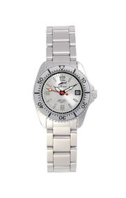 Chris Benz One Lady CBL-SI-SI-MB Elegante Damenuhr Taucheruhr