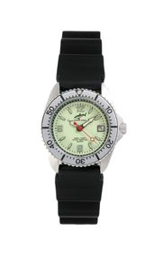 Chris Benz One Lady CBL-N-SI-KB Elegante Damenuhr Taucheruhr