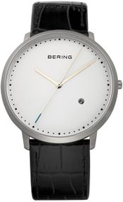 Bering Classic Collection BG11139-404 Elegante Herrenuhr flach & leicht