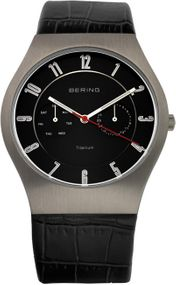 Bering Titanium Collection BG11939-472 Elegante Herrenuhr flach & leicht