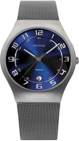 Bering Titanium Collection BG11937-078 Elegante Herrenuhr flach & leicht