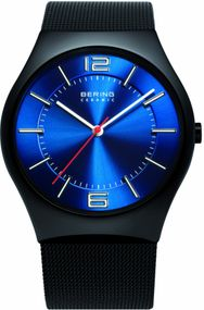 Bering Ceramic Collection BG32039-447 Elegante Herrenuhr flach & leicht