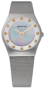 Bering Glam Collection BG11927-004 Elegante Damenuhr flach & leicht
