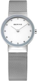 Bering Classic Collection BG10126-000 Elegante Damenuhr flach & leicht