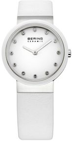 Bering Ceramic Collection BG10729-854 Elegante Damenuhr flach & leicht