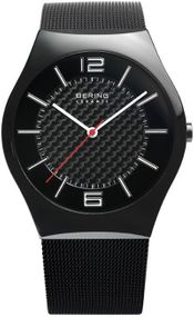 Bering Ceramic Collection BG32039-449 Elegante Herrenuhr Mit Keramikelementen