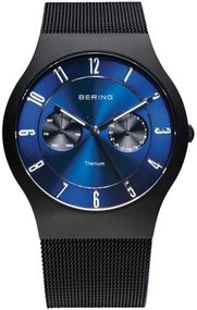Bering Titanium Collection BG11939-078 Elegante Herrenuhr flach & leicht