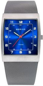 Bering Titanium Collection BG11233-078 Elegante Herrenuhr flach & leicht